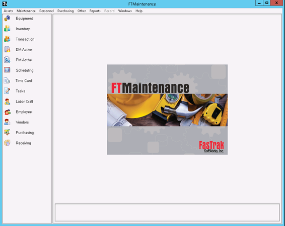 FTMaintenance - Main screen image