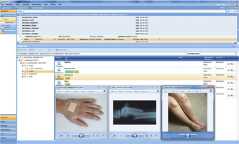 Add images to patients medical report