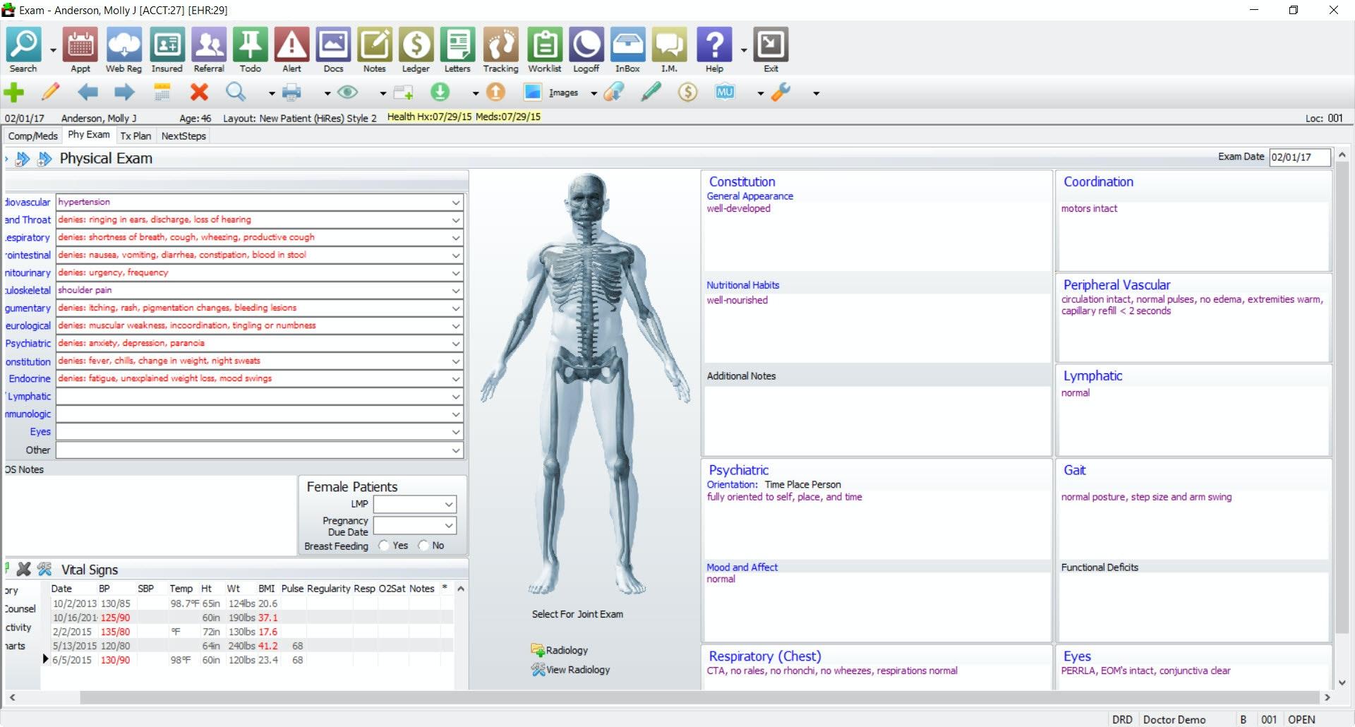 Compulink Healthcare Solutions Orthopaedic EHR
