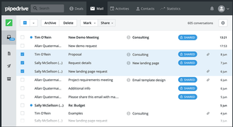 Manage email communications