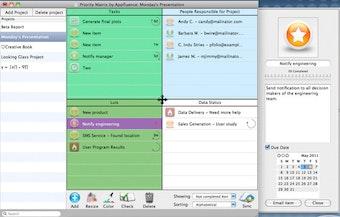 Tasks and status
