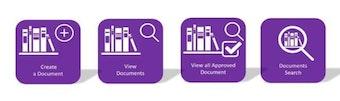 Document manager menu
