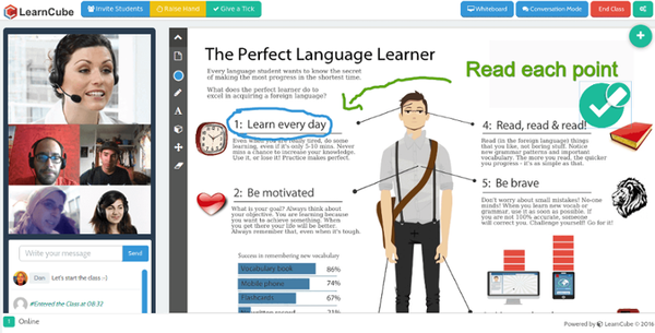 Classroom interface
