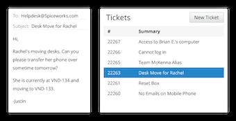 View ticket summary