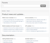 Zendesk - Knowledge base and community forums