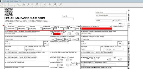 Printable form
