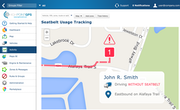 Fleet GPS tracking by High Point GPS - Fleet GPS tracking by High Point GPS seatbelt usage tracking