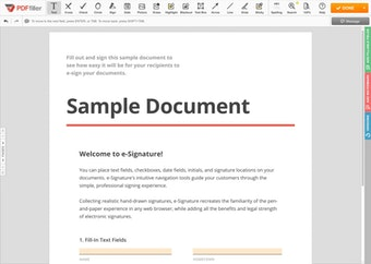 Document editor