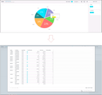 Export visual data into reports