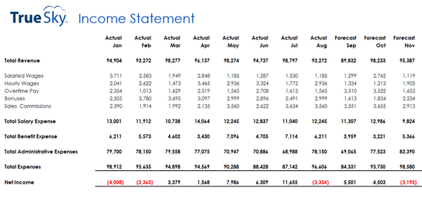 Income statement