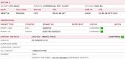 Awery ERP - Flight brief