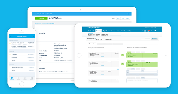 Xero multi-device accessibility