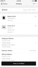 Squarespace - Orders on mobile app