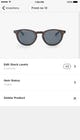 Squarespace - Inventory on mobile app