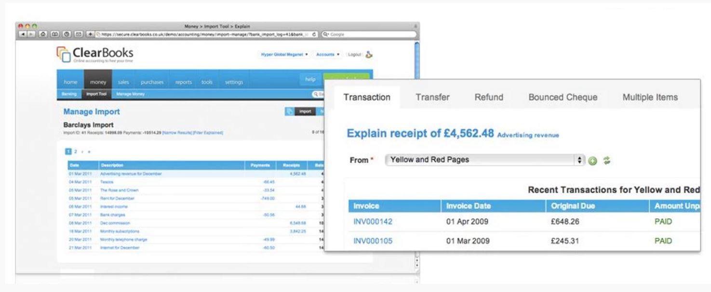 Invoice details