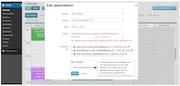 KPMG Spark - Edit appointment