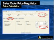 Microsoft Dynamics SL for Construction - Sales Order Price Negotiator