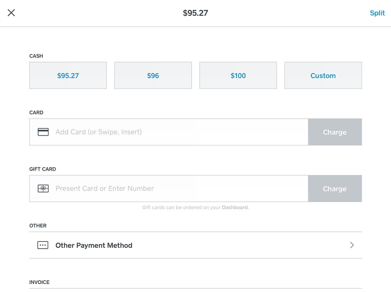 SquareforRetail - Payment processing