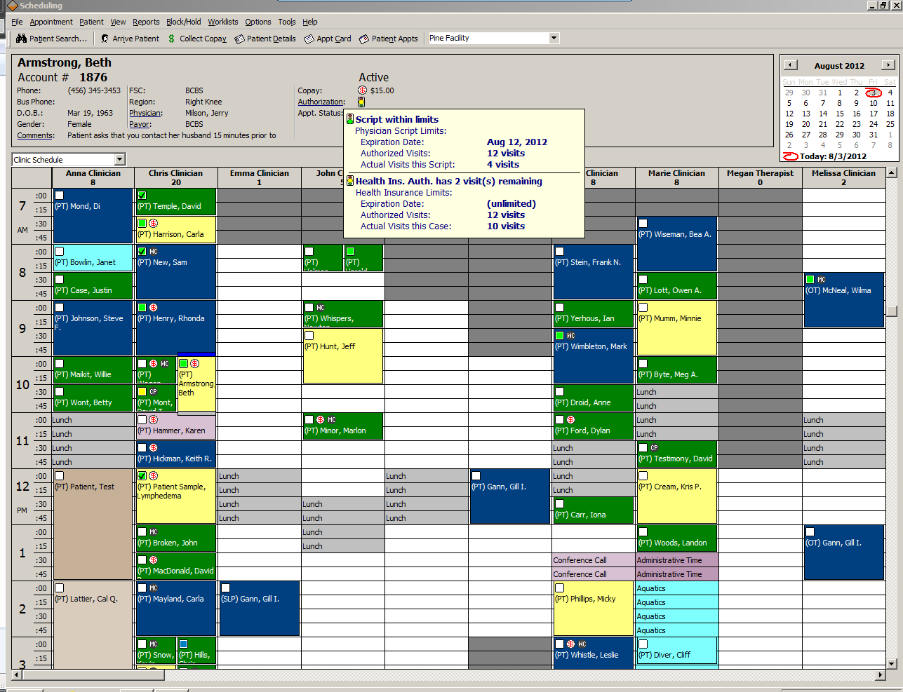 Scheduling capture