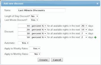 Add discounts