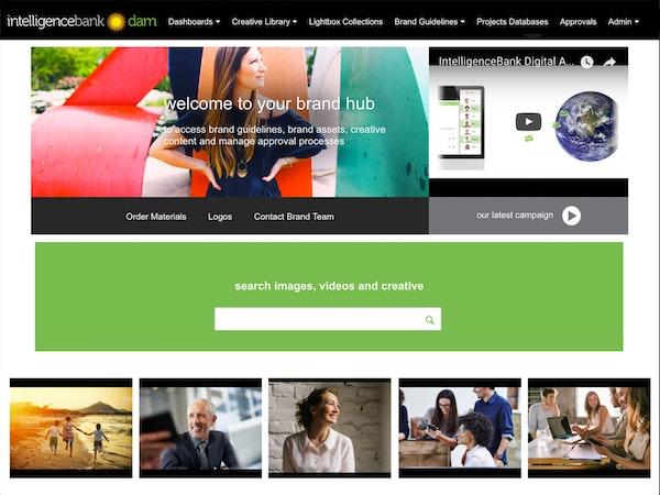 IntelligenceBank - Brand hub