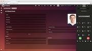uContact Client form