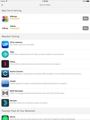 Synced apps