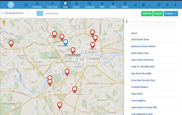 Site maps