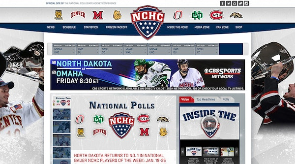 Team home page