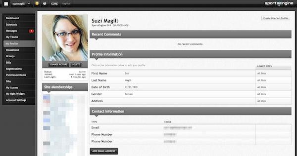 Player profile