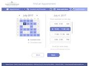 AdvancedMD - Online scheduling