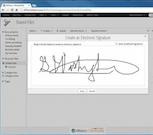 ShapeNet electronic signature