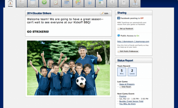 Customizable homepage