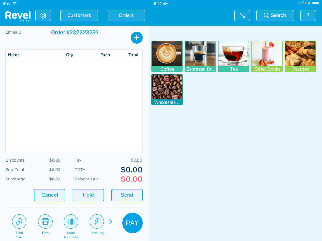 Revel - iPad POS