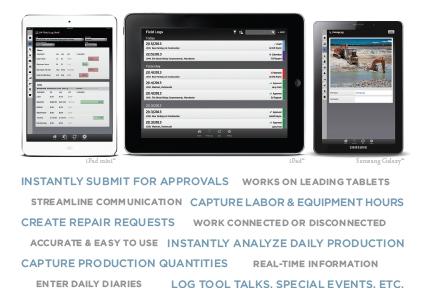Mobile Tablet App