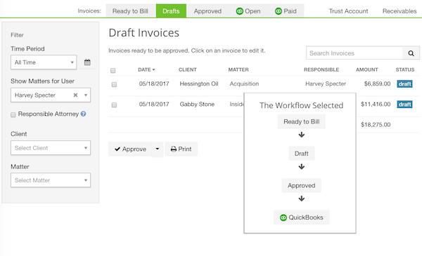 Billing workflow