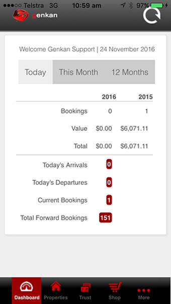 Mobile booking