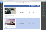 Pages liked performance