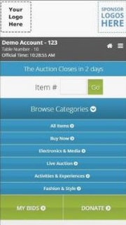 Customizable mobile app