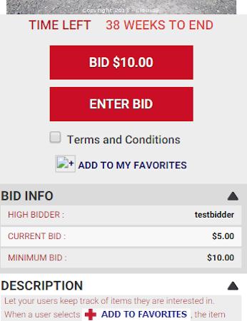 Make bid