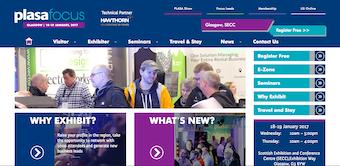Example event website
