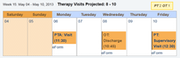 Interdisciplinary scheduling tools