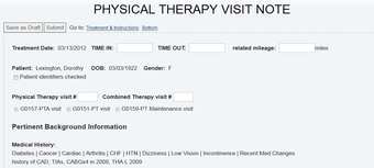 Therapy eNotes