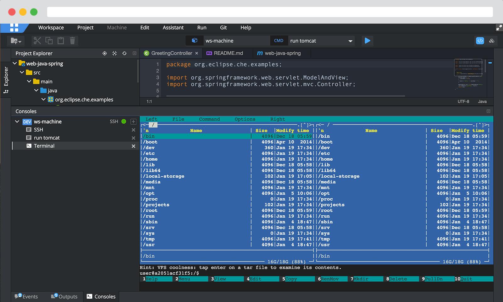Desktop IDE