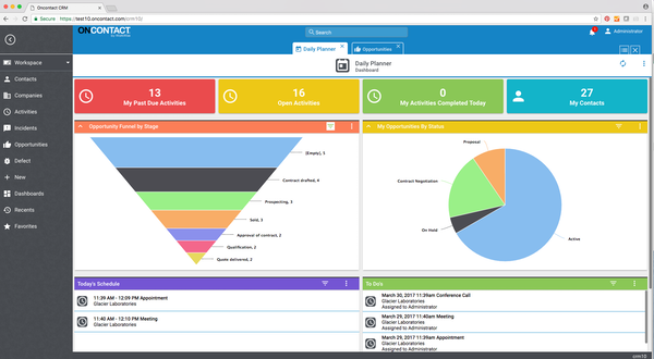 Pipeline management dashboard