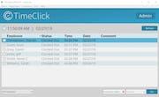TimeClick - Main screen