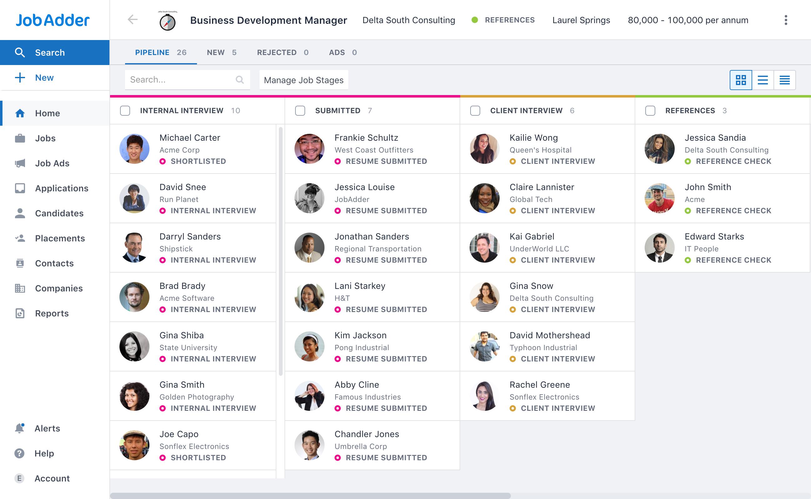 Software JobAdder - 2019: avaliações, preços e demonstrações