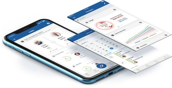 Mobile CRM with built-in AI