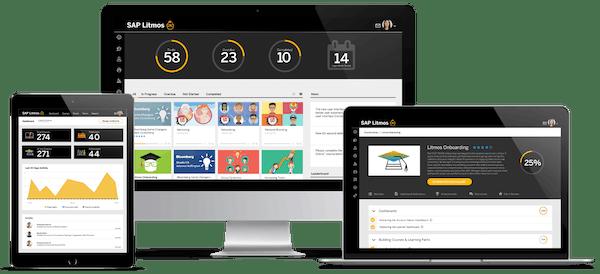 SAP Litmos dashboard screenshot