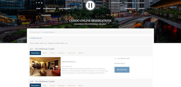 Marketing site integration